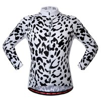 Wholesale 2016 Cycling Jerseys Long Sleeve Tops Mountain Bicycle Clothing White Colour Men or women Winter Autumn Cycling Jerseys