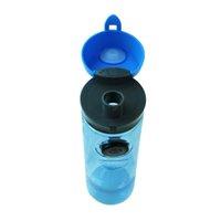 antibacterial plastics - 750ml Brands Plastic Bottles Antibacterial Water Bottle with Compass Blue grey green Bottle Custom Logo Easy to drink
