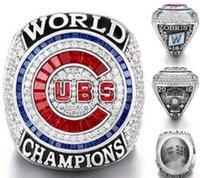 2017 Venta al por mayor 2016 Chicago Cubs World Series Championship Tamaño del anillo 8 - 14 2016