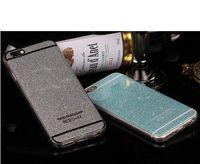 Precio de Iphone bling la rosa-Caso del brillo para el iPhone 7 más 6 6S 5 casos suaves del bolso del teléfono de la cubierta del silicio de Bling TPU para el iPhone 6 6S 7 más oro rosado DHL H091
