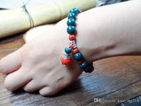 attraction halloween - 2016 New Jingdezhen retro style of the national wind ceramic jewelry bracelet tourist attractions to sell hot stalls
