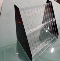 Wholesale Lipstick cosmetics accessories acrylic plastic transparent organic glass display shelf