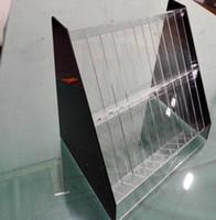 Wholesale Lipstick cosmetics accessories acrylic plastic transparent organic glass display shelf