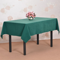 Wholesale Hotel conference room table High end conference table cloth tablecloth green mud custom office table cloth