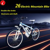Wholesale Luxury Electric Mountain Bike inch Speed V or AH Lithium Battery Electric Bicycle Motorcycle for Adults