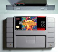 Wholesale SNES RPG Game Battery Save card Earthbound English Language cartridge