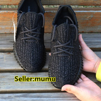 Cheap 2017 More Color Kanye West Shoes Black Grey Moonrock Adidas Yeezy Boost 350 Yeezys Women And Men Size 36-45. Drop Sale