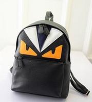 backpack cartoon images - Cute image monster backpack fashion ladys daily girls backpack oem image bag backpack
