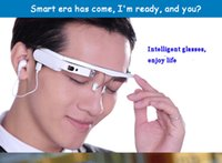 Wholesale new IVS cloud I smart glasses Android Camera photographed glasses Support music and WIFI Voice operation