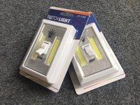 Wholesale COB LED Switch Light Wireless Cordless Under Cabinet Closet Kitchen RV Night Light Retail