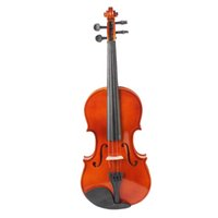 Basswood acoustic basswood spruce - Full Size Natural Acoustic Violin Fiddle with Case Bow Rosin for Violin Beginner with Original Case