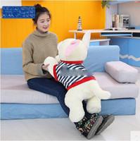 75cm gigante lindo animal muerto juguete perro de juguete 30 '' grande relleno chihuahua niños jugar muñeca almohada bebé presente