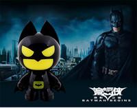batman bank - The Dark Knight Batman USB LED Night Light Cartoon Batman Shape Gadgets USB PC Power Bank Power Supply DC V Table Lamp