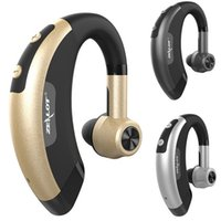 Wholesale Hands Free Wireless Stereo Music V4 Bluetooth Business headphones phone bluetooth headset Car Driver Handsfree earphone With Mic