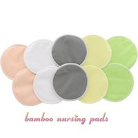 bamboo piece - Baby Breast Nursing Pads Breathable Breast Pad Solid Bamboo Fiber Reusable Nursing Pads For Mummy Discos De Lactancia