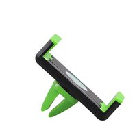 Wholesale Universal In Car Air Vent Mount Holder for Smartphone Holder NEW Green