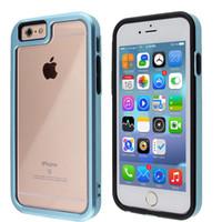 apex white - Apex iphone plus s plus Anti scratch Clear hybrid armor case pc bumper soft tpu interior shockproof cover cases