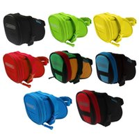 Wholesale Roswheel Water Resistant Bike Saddle Bag Back Seat Quakeproof Foam Bicycle Bag Rear Tail Pouch Mountain Bike Bicycle Bags