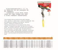 Wholesale 1 ton tons of hoist chain electric hoist domestic hoisting crane factory