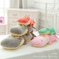 Boys bath cushions - Littlecucu New Pattern Software Hippo Lint Toys Pillow Hippo Doll Cushion Gift
