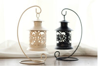 Wholesale home decor Candlestick handle holders Outdoor decoration European creative home jewelry romantic candle holder
