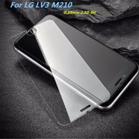 Wholesale For ZTE Grand X4 Z956 Tempered Glass Screen Protector For LG LV3 Aristo Metropc V20mini X Power K10 V20 Film Anti shatter Paper Package
