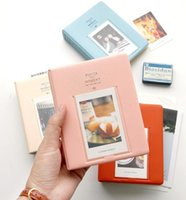 Wholesale 64 Pockets Polaroid Camera Photo Album Pieces of Moment photo Holder Candy Color Album for Mini Fuji Instax best christmas gifts