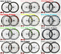 Wholesale models Super Team mm carbon bike Wheels with mm width kinds of hubs mm road bike carbon wheels