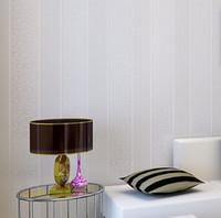 beige stripe wallpaper - papel de parede Stripe Modern Textured Wallpaper bedroom textured wall paper modern bedroom wallpaper roll Beige white grey