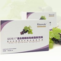 Wholesale Rinawale Tianjin Kang Ting boxed grape powder bags of grape seed powder solid beverage beauty food