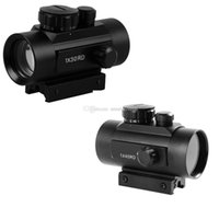 Wholesale New X40RD RD Tactical Holographic Reflex Red Green Dot Sight lighted Scope Mount F00457 BARD