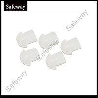 Clear, flash, and black acoustic earpiece - 10pcs walkie talkie mushroom silicone Ear bud for two way radio acoustic tube earphone air tube earpiece replacement