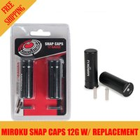achat en gros de snaps de remplacement-Miroku 2pk 12 Gauge Shotgun Metal Snap Caps Feing Pin Dummy Round w / Replacement