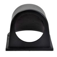 Wholesale EE support quot MM Black ABS Plastic Automobile Clock Gauge Meter Dash Dashboard Mount Pod Holder Sales XY01