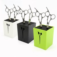 Wholesale 2017 New arrived Hair Scissors Holder Fashion Salon Professional Scissor Set Storage Box High Quality colors