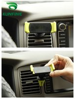 Wholesale Universal Car Phone Holder Stand º Adjustable Air Vent Phone Mount Holder with Box for Mobile Phone