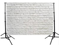 Wholesale 5x3ft Vinyl Studio Brick Wall Photography Background For Studio Photo Props Photographic Backdrops Cloth x cm