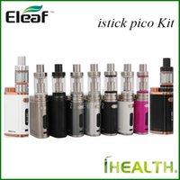 Wholesale New Colors Eleaf iStick Pico Starter Kit w iStick Pico Mod Upgradeable with ml Melo III ml Melo III Mini tank