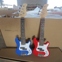 Wholesale string DIY Mini electric bass