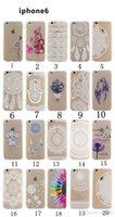 Белых слонов Цены-Хна Белый Цветочные Пейсли Цветочные Mandala слон Ловец снов PC задняя крышка телефона чехол для iPhone 4 5 6 Plus Samsung