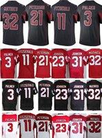 best patrick - Best Quality Cheap Men s Carson Palmer Larry Fitzgerald Patrick Peterson Tyrann Mathieu David Johnson Red Black White Jersey