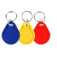 Wholesale Access Control Card S50 UID IC Key Tag Token Key Ring IC Induction Card Mhz