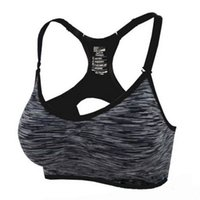 Wholesale 3 Size High Quality Adjustable Spaghetti Straps Professional Bra Tanks Fast absorption Sweat Seamless Top Vest