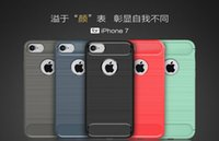 apples production - For IPHONE S S S PLUS S S PLUS High TPU Carbon Fiber Soft Shell Case Cover Anti Shock Full Production Case