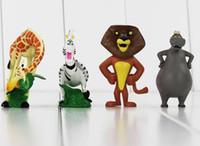 Red alex toys - Madagascar Madagascar Alex Hippo gloria Melman Marty PVC Action Figure Collectable Model Toy for kids gift