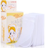 Wholesale set Beauty Tools Packed Primary Colors Bamboo Fiber Skin Care Remove Cotton Makeup Cotton GYH