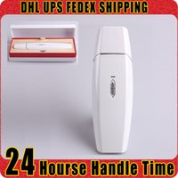acne body cure - Handhela Quadrupole RF Facial Cure Device Red Blue Light Photon Therapy Acne Wrinkle Reduce Control Fatness Skin Rejuvenation Machine