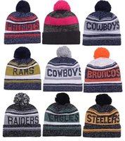 Wholesale New Arrival Beanies Hats American Football team Beanies Sports Beanie Knitted Hats drop shippping Snapbacks Hats album offered B22