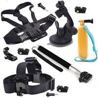 Kit Kit de montaje para parabrisas de automóvil Stick Selfie para Sony Acción Cam AS20 AS200V AS15 FDR-X1000V W 4K HDR-AS30V HDR-AS100V HDR-AZ1 Mini Kit