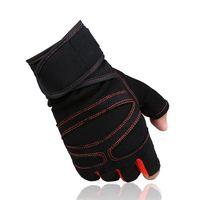 Wholesale Sports Gym Gloves Half Finger Breathable Weightlifting Fitness Gloves Dumbbell Men Women Weight lifting Gym Gloves